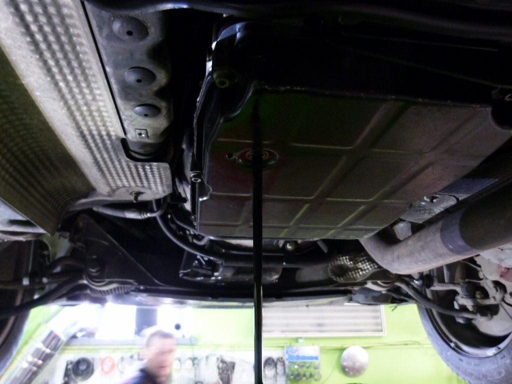 mercedes c270 vymena oleja v automatickej prevodovke ZF