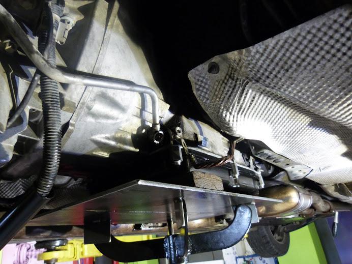 mercedes e270 cdi vyberanie automatickej prevodovky ZF